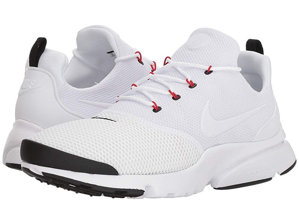 Nike Presto Fly (White White Black University Red) Men s Shoes. Add ... d23a772bf2