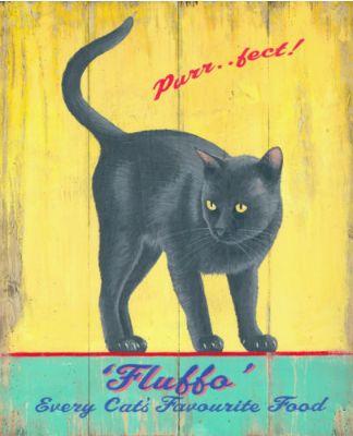 carte_ancienne_chat_noir | ÇAT ART | Pinterest | Dog and Cat