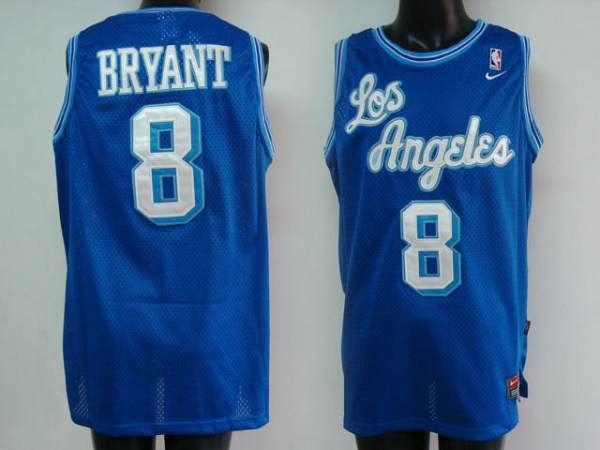 pretty nice dd891 3b75c Lakers #8 Kobe Bryant Stitched Blue NBA Jersey | NBA | Kobe ...