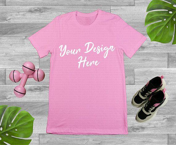 Download Free Plain Pink Gym Fitness Workout T Shirt Mockup Gildan 6400 Psd Free Psd Mockups Smart Ob Mockup Free Psd Free Psd Mockups Templates Free Packaging Mockup