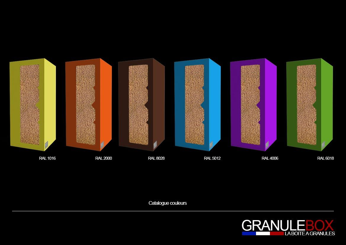 la granulebox personnalis e sa couleur po le. Black Bedroom Furniture Sets. Home Design Ideas