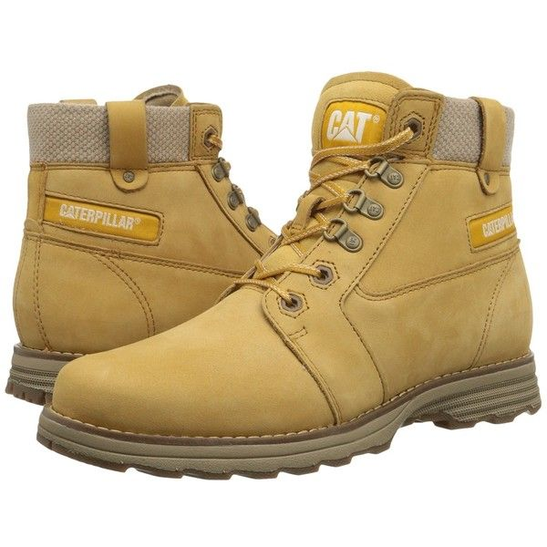 Caterpillar Casual Charli Women's Work Boots ($140) ❤ liked on Polyvore  featuring shoes,