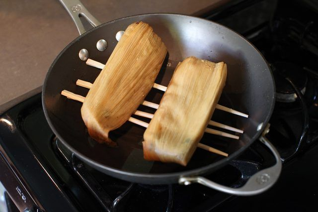How To Steam A Tamale Without A Steamer Basket Cooking Dash Cooking Equipment Tamales
