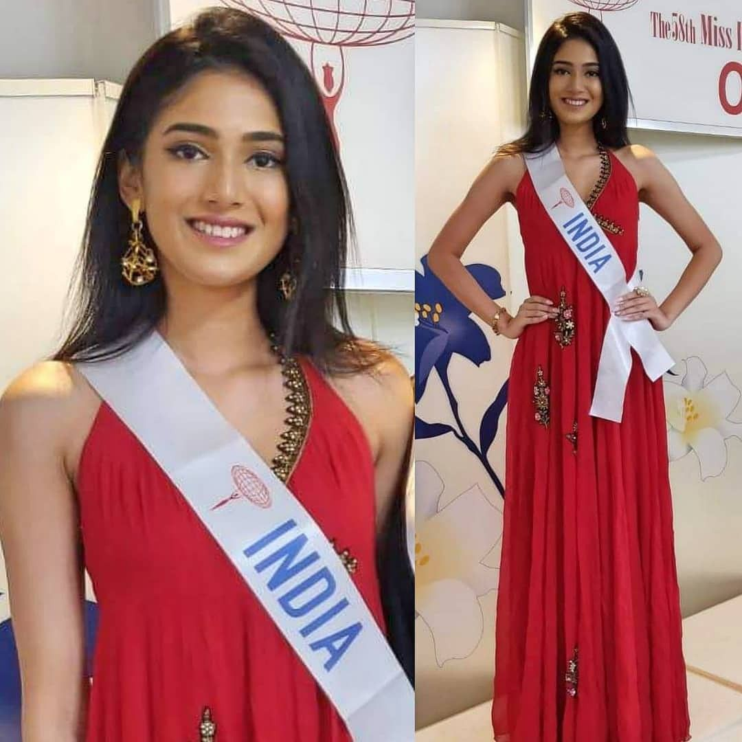 Representing India with Pride at Miss International 2018