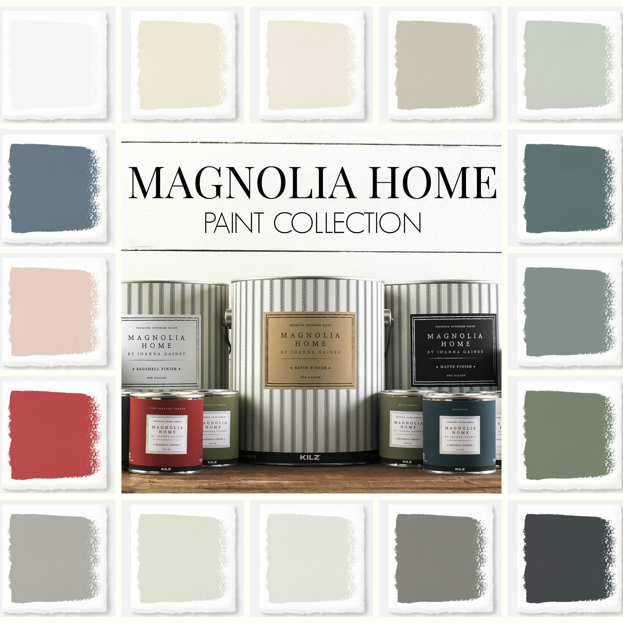New magnolia home paint collection pinterest kilz for Magnolia home paint colors
