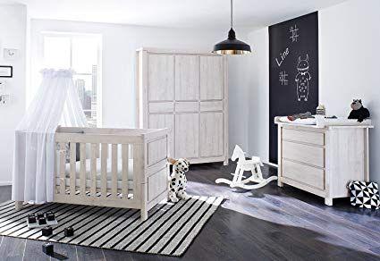 Pinolino 100063Bg 3Teilig, Kinderbett, Breite