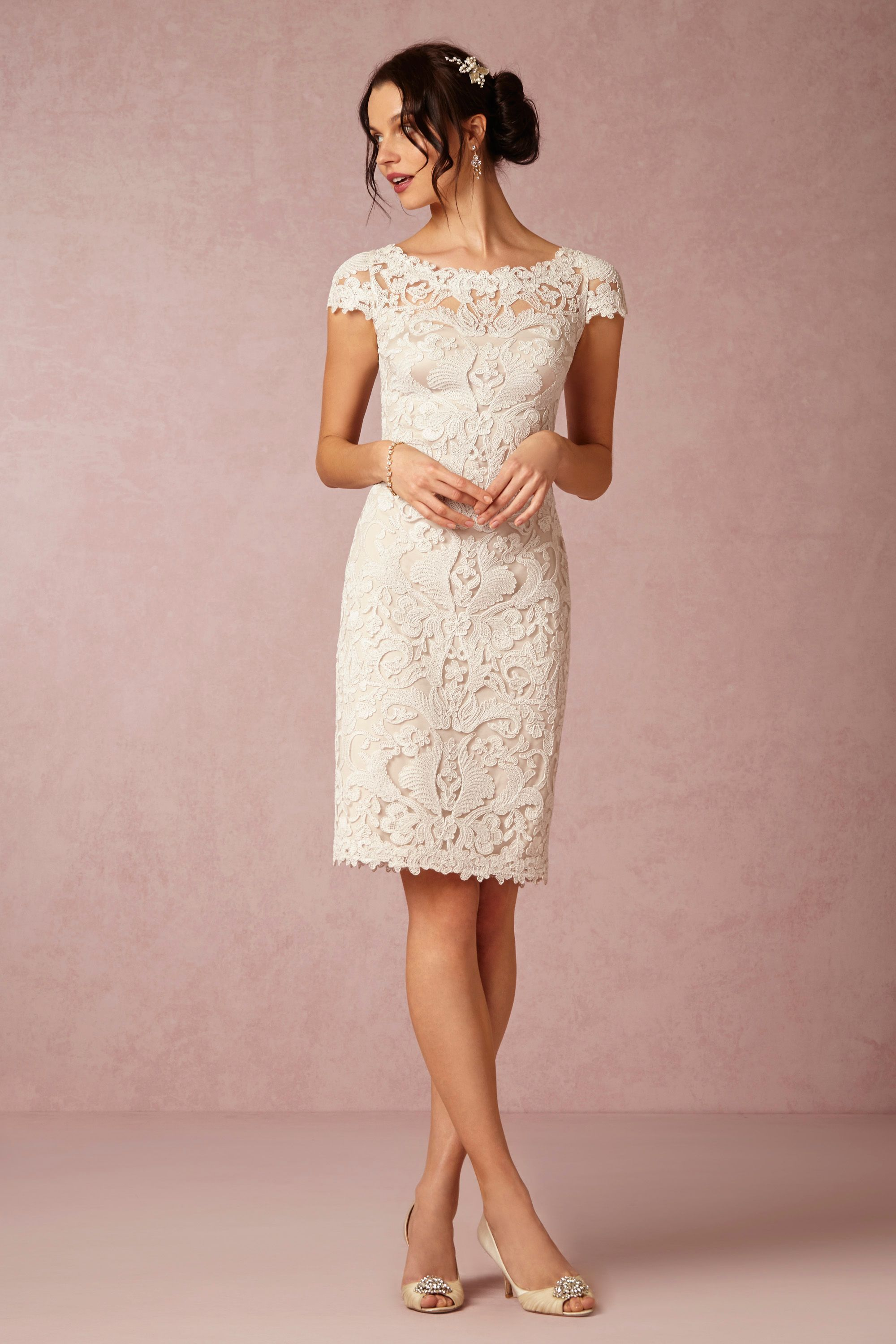 BHLDN\'s Tadashi Shoji Hadley Dress in Ivory/natural | Pinterest ...