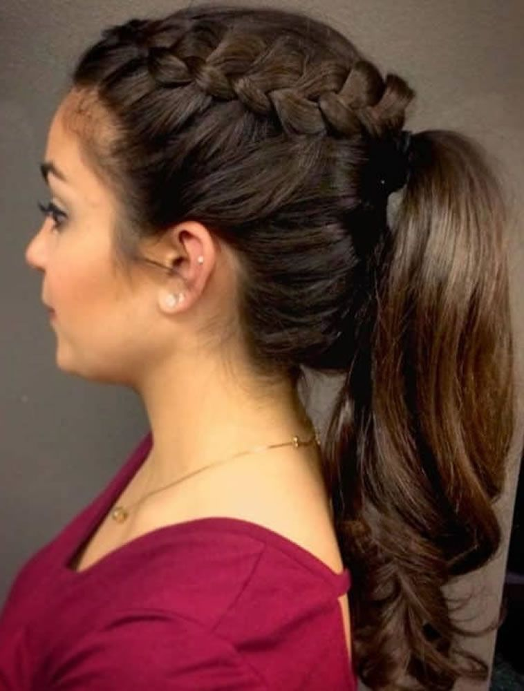 Ponytail Party Hairstyles For 2019 2020 Ponytail Hairstyles Side Ponytail Hairstyles Hair Styles