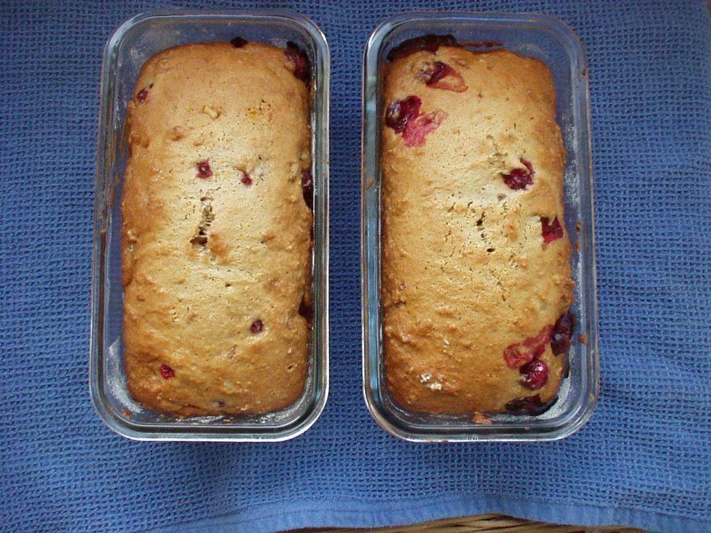 Orange Cranberry Bread The Joy Of Baking Tea Cookies Baking The Joy Of Baking Cranberry Bread