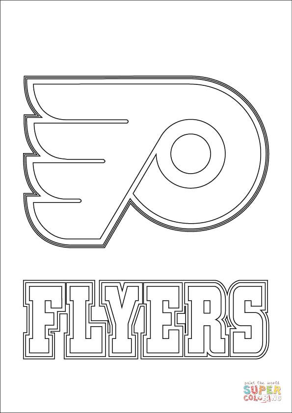 Philadelphia Flyers Logo | Super Coloring | Templates | Pinterest