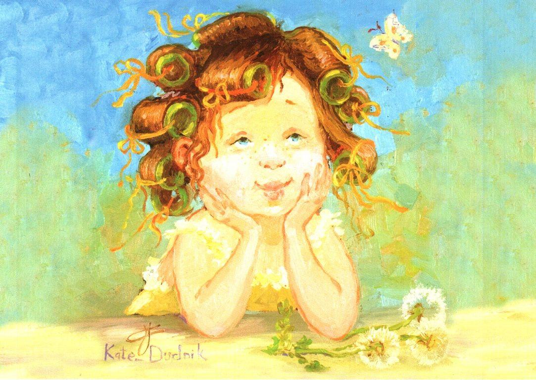 Открытка для детских волос