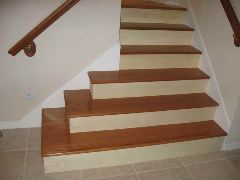 Flooring For Stairs Decor Ideas Dont love how wide the bottom