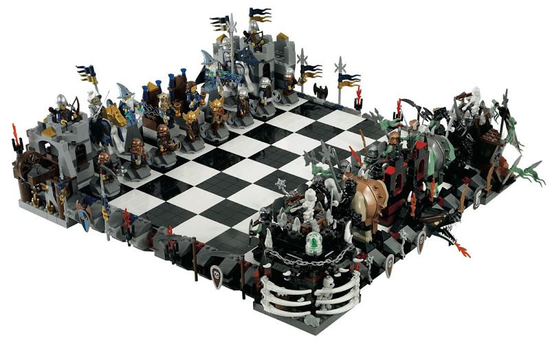 Simply Creative Creative And Unique Chess Sets Lego Chess Giant Chess Star Wars Chess Set