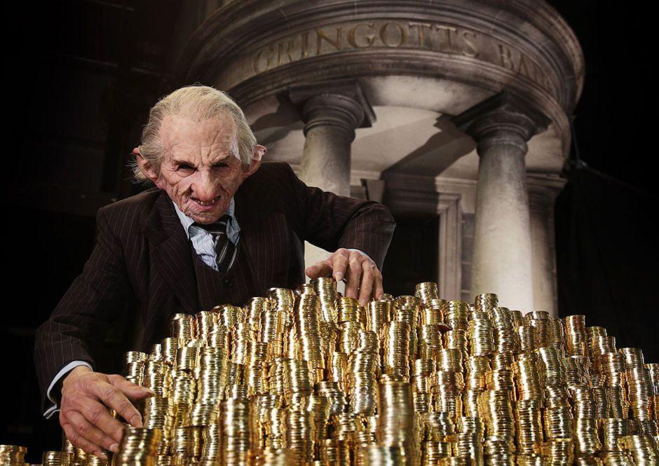 Gringotts Wizarding Bank Is Now Open To The Public In London Warner Bros Studio Tour London Harry Potter Studios Warner Bros Studio Tour