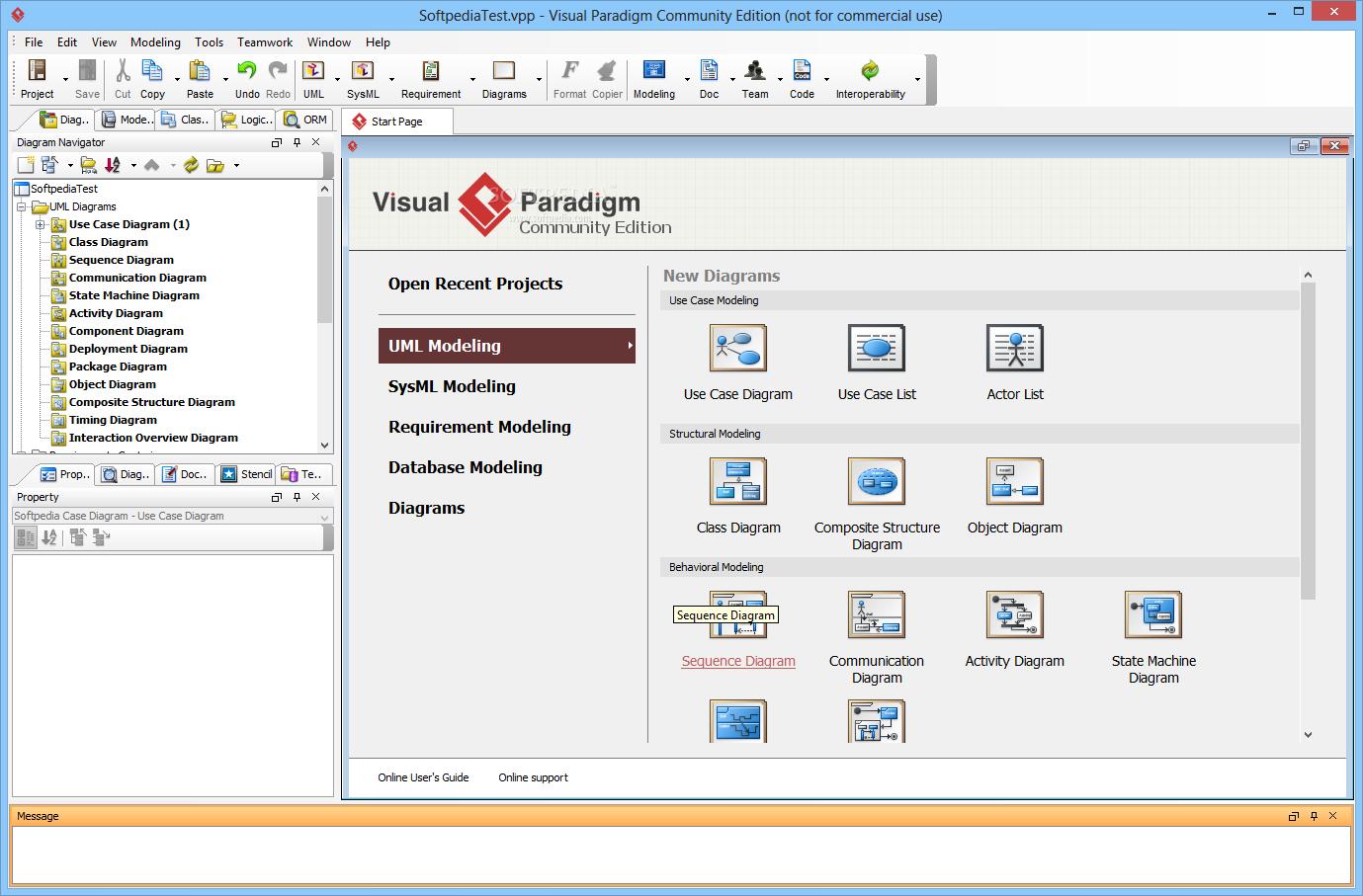 Visual Paradigm Tool Dashboard -- www.visual-paradigm.com | UML ...