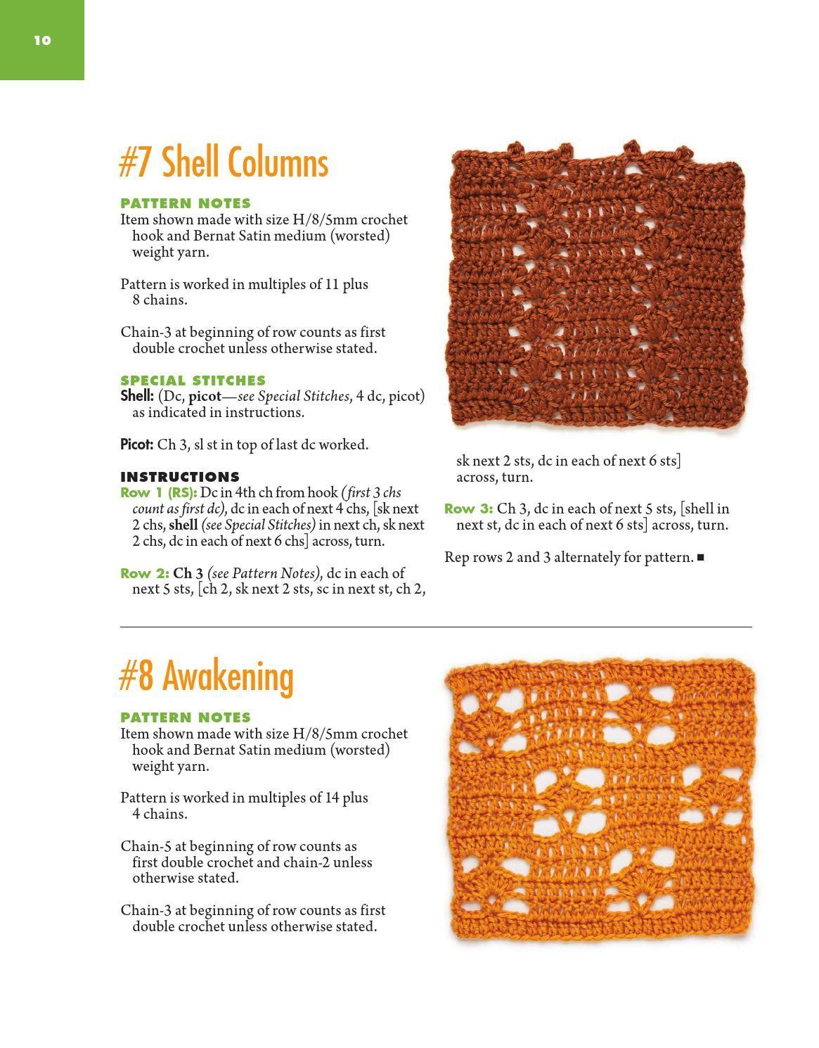 ISSUU - 100 quick & easy crochet stitches sims, darla by tsiisfamke
