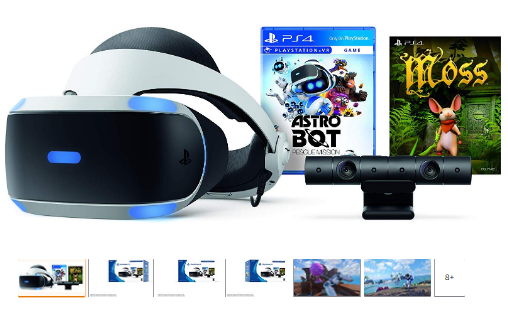 Playstation Vr Astro Bot Rescue Mission Moss Bundle Playstation Vr Playstation Game Voucher