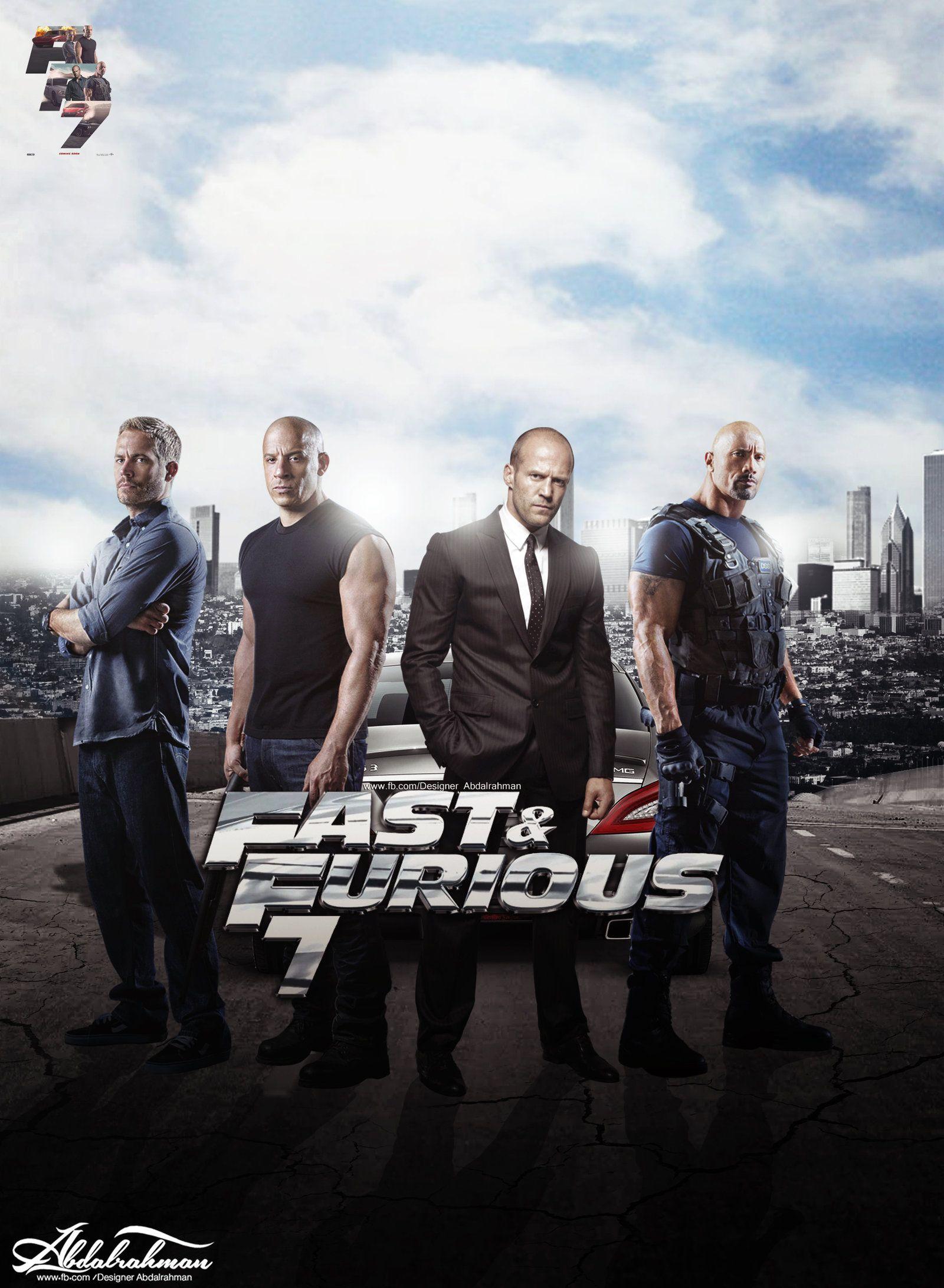 Fast Furious 7 Fast And Furious Furious Movie Furious 7 Movie