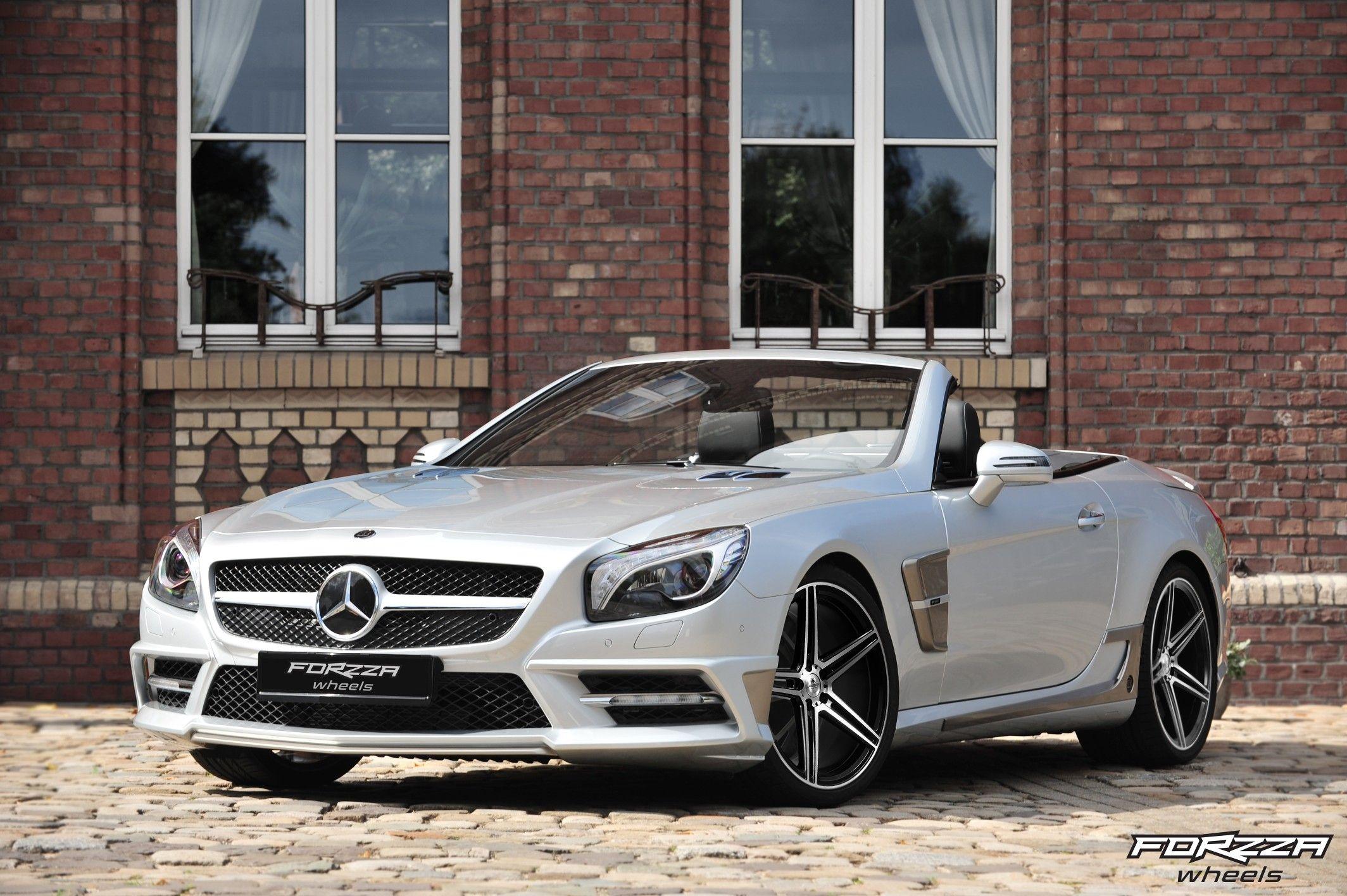 Forzza Bosan On Mercedes Benz Mercedes Sl Mercedes Benz Germany Mercedes Benz