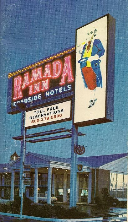 Highway Signs For Sale >> Ramada Inn sign - 1971 in 2019 | Vintage neon signs, Retro signage, Vintage hotels