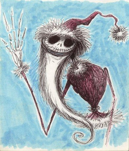 Tim Burton's artwork - nightmare-before-christmas Fan Art