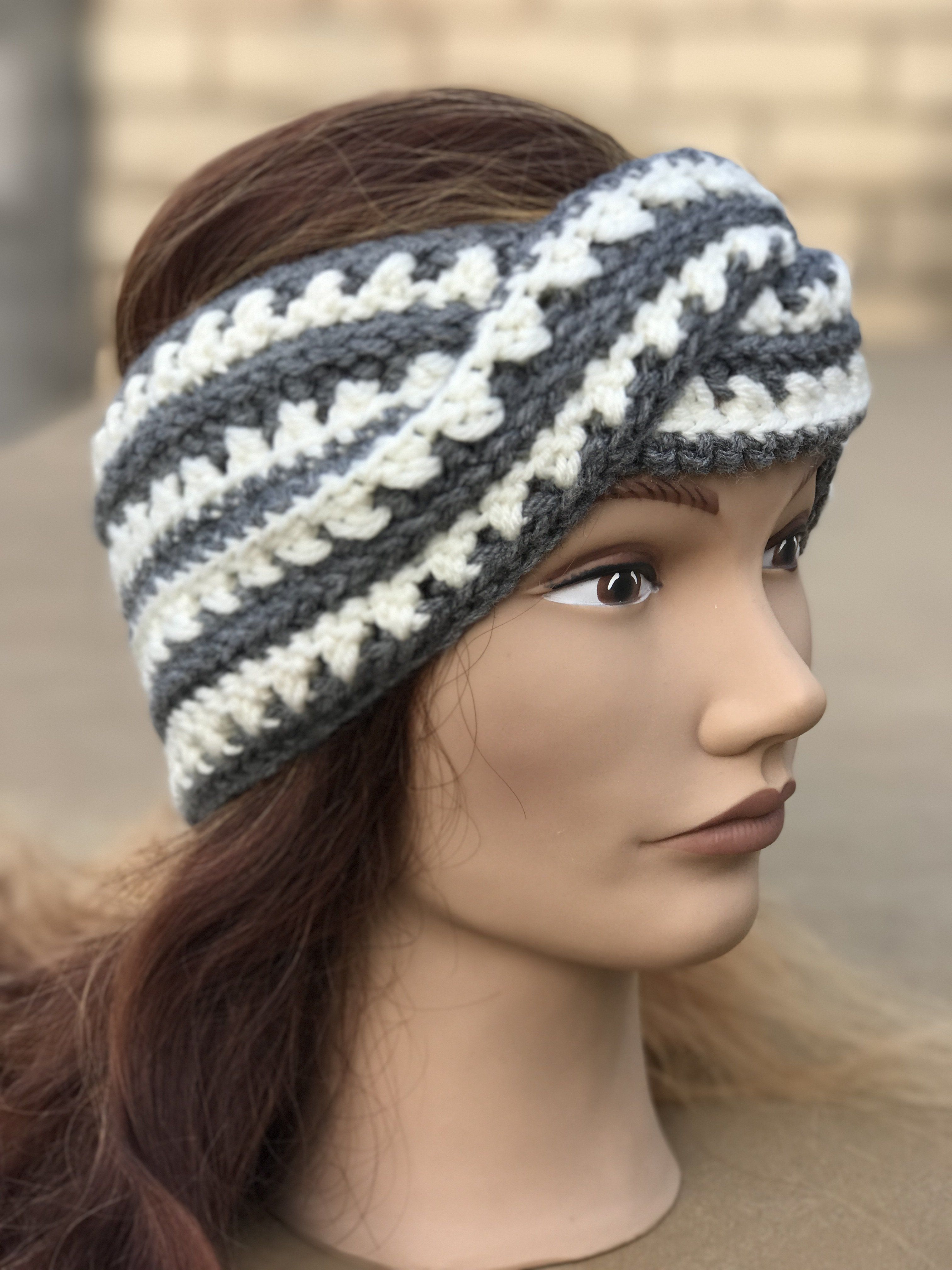 Ear Warmers-Twisted, Crocheted | She\'s Crafty | Pinterest ...