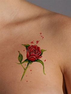Red Rose Tattoo Tattoos