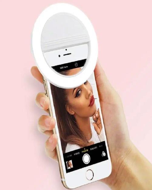 Led Selfie Ring Light For Smartphones Videos In 2020 Selfie Ring Light Selfie Light Ring Light For Iphone
