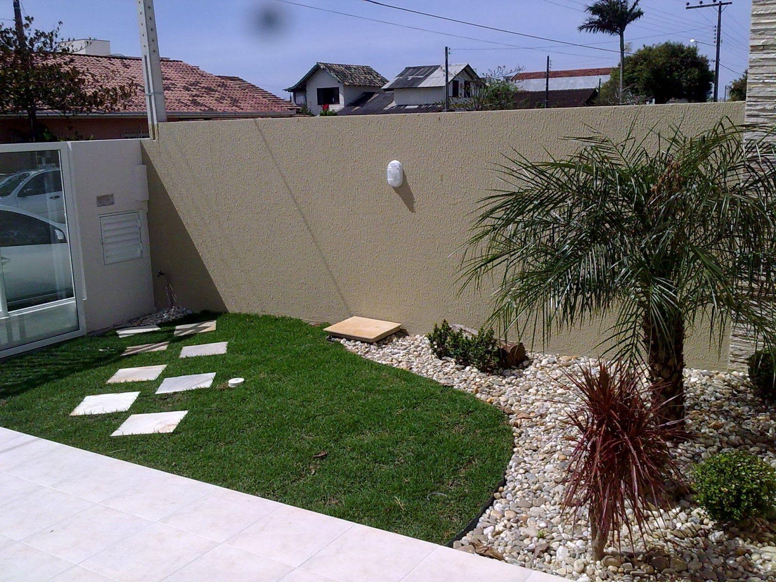 Como fazer um jardim simples e barato no quintal como for Jardines pequenos simples
