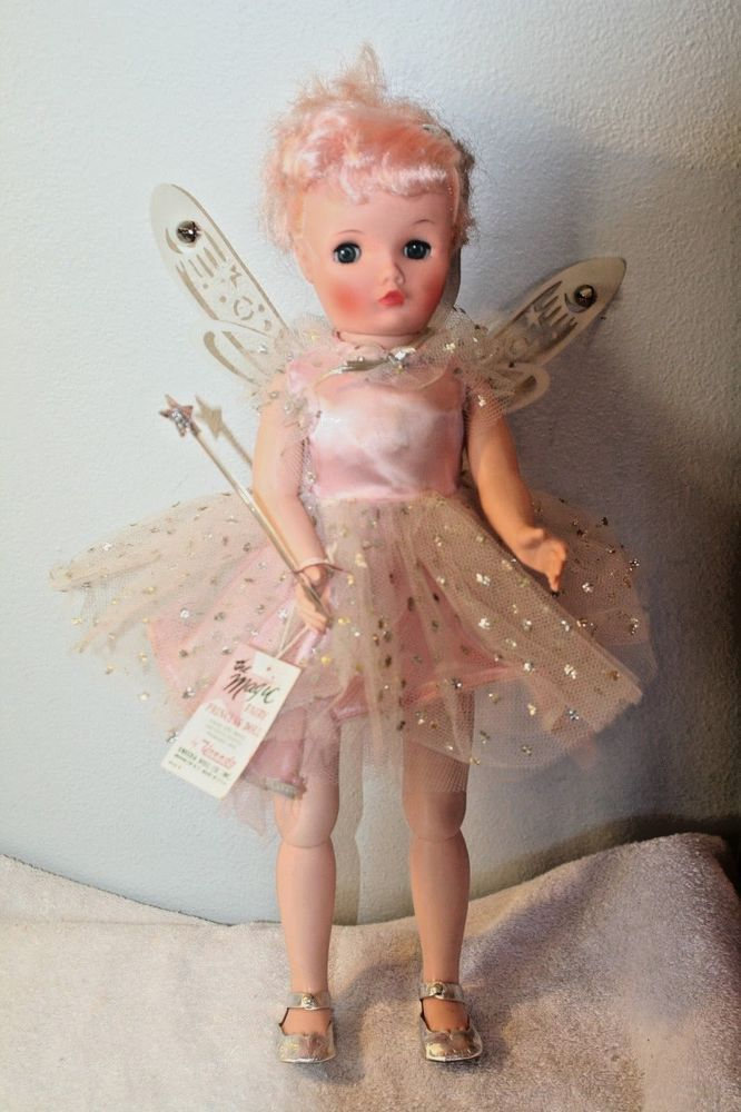 Vintage Uneeda Magic Fairy Princess doll-Original Box  #UNEEDA #Dolls