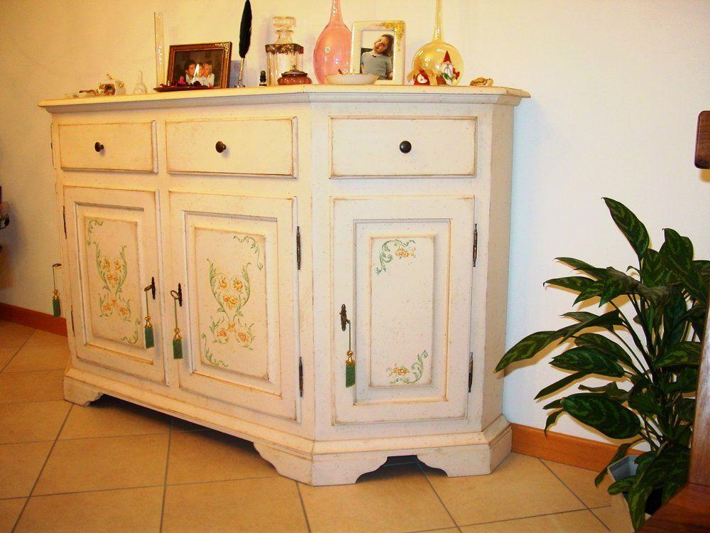 Mobili Pitturati ~ Credenza invecchiata mobili dipinti pinterest credenza