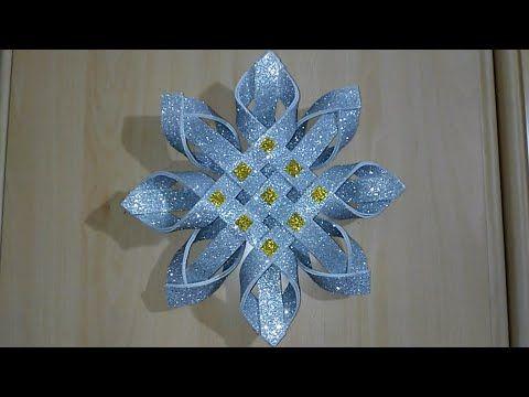 عمل يدوي جميل بخطوات بسيطة جدا عمل فني بورق الفوم Decorazione Natalizia Fai Da Te Diy Chrismas Youtube In 2020 Hobby Lobby Christmas Christmas Decor Diy Crafts