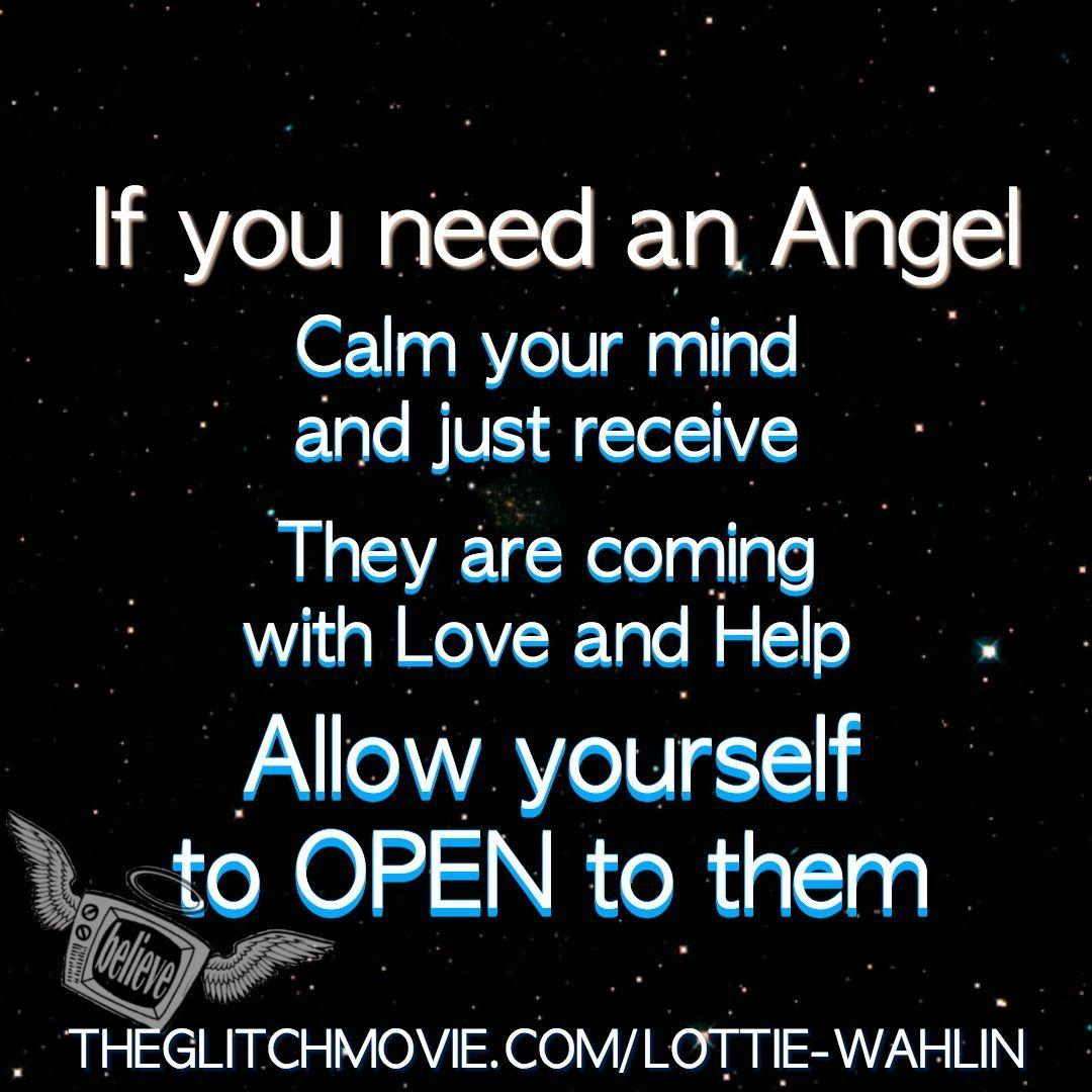 Lottie Wahlin Author and Medium Prayer quotes, Spirit