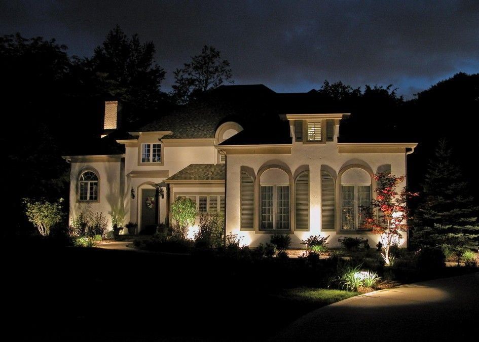 Decoration Appealing Led Outdoor Lighting Design With Mediteranian House Style And Front Outdoor Lighting Design Landscape Lighting Design Landscape Lighting