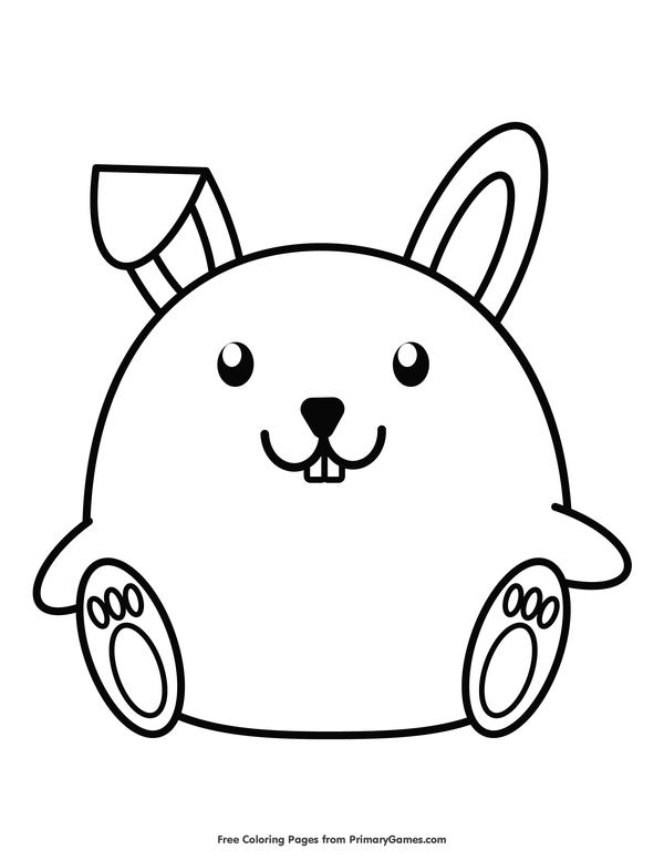 42++ Chinese new year rabbit coloring page HD