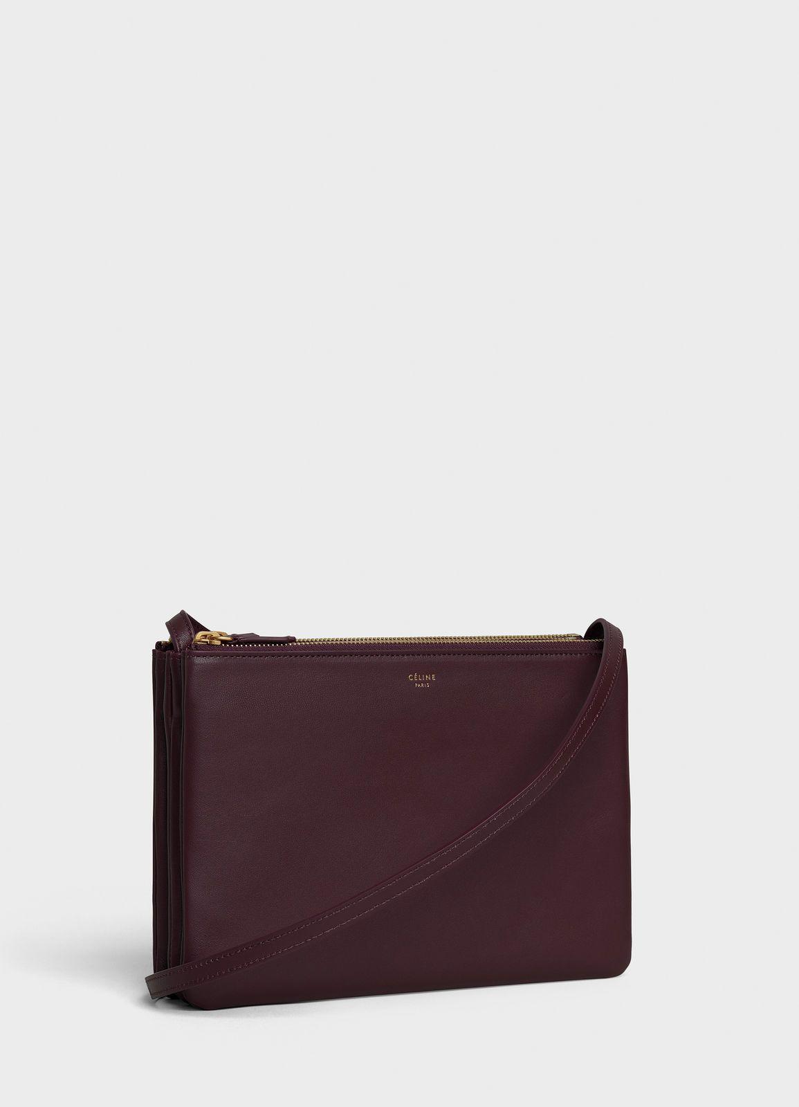 088f075601f9 Large Trio bag in smooth lambskin
