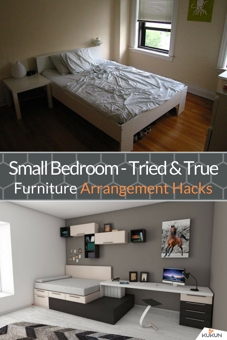 7 Clever Small Bedroom Furniture Arrangement Hacks Bedroom Furniture Placement Arranging Bedroom Furniture Small Bedroom Furniture