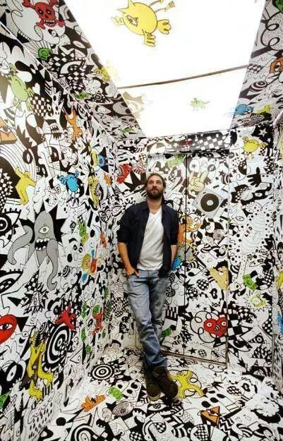 """""""The art of Vitor Rolim"""", conocido por la complejidad de sus pinturas y temas contemporáneos :)"""