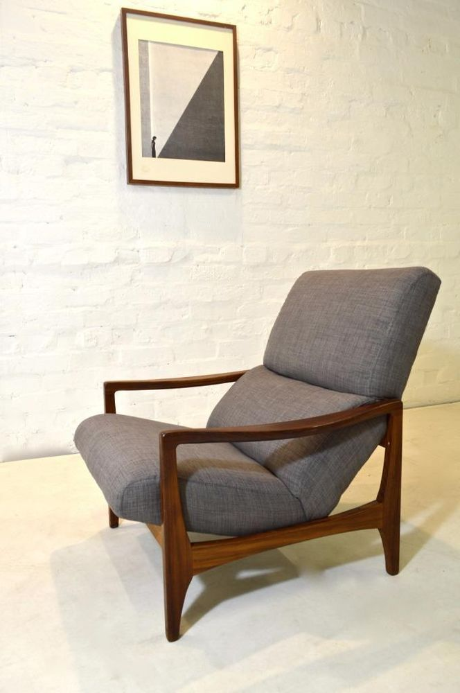 Rare Mid Century Modern G Plan Danish Arm Chair Retro Vintage Teak 50s 60s 70s Modern Woodworking Plans Mid Century Lounge Chairs Furniture