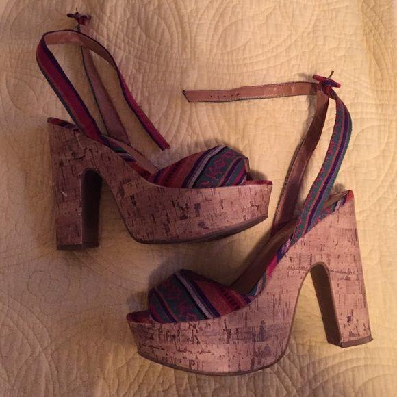 Steve Madden Heels Steve Madden - Madden Girls Heels. Size 8. Madden Girl Shoes Heels