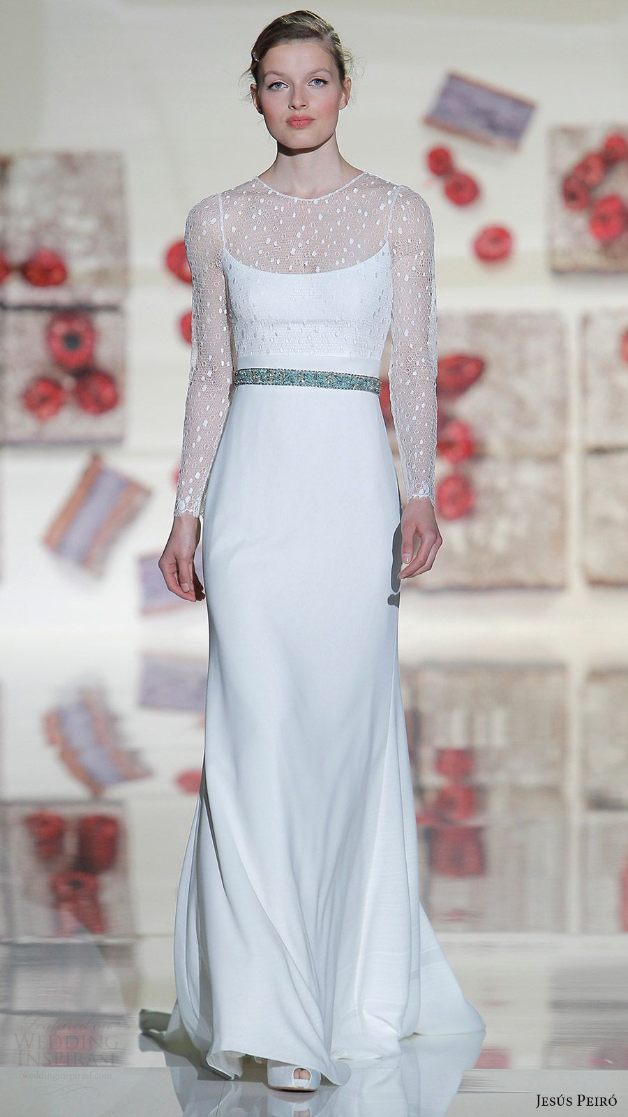 "Jesus Peiro 2017 Wedding Dresses — ""Mirtilli"" Bridal"