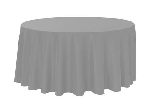 108 Inch Round Polyester Tablecloth Gray Round Tablecloth Grey Tablecloths Wedding Tablecloths
