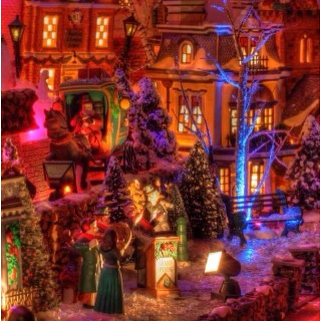Christmas village displays \u003dD Christmas Village Ideas Pinterest