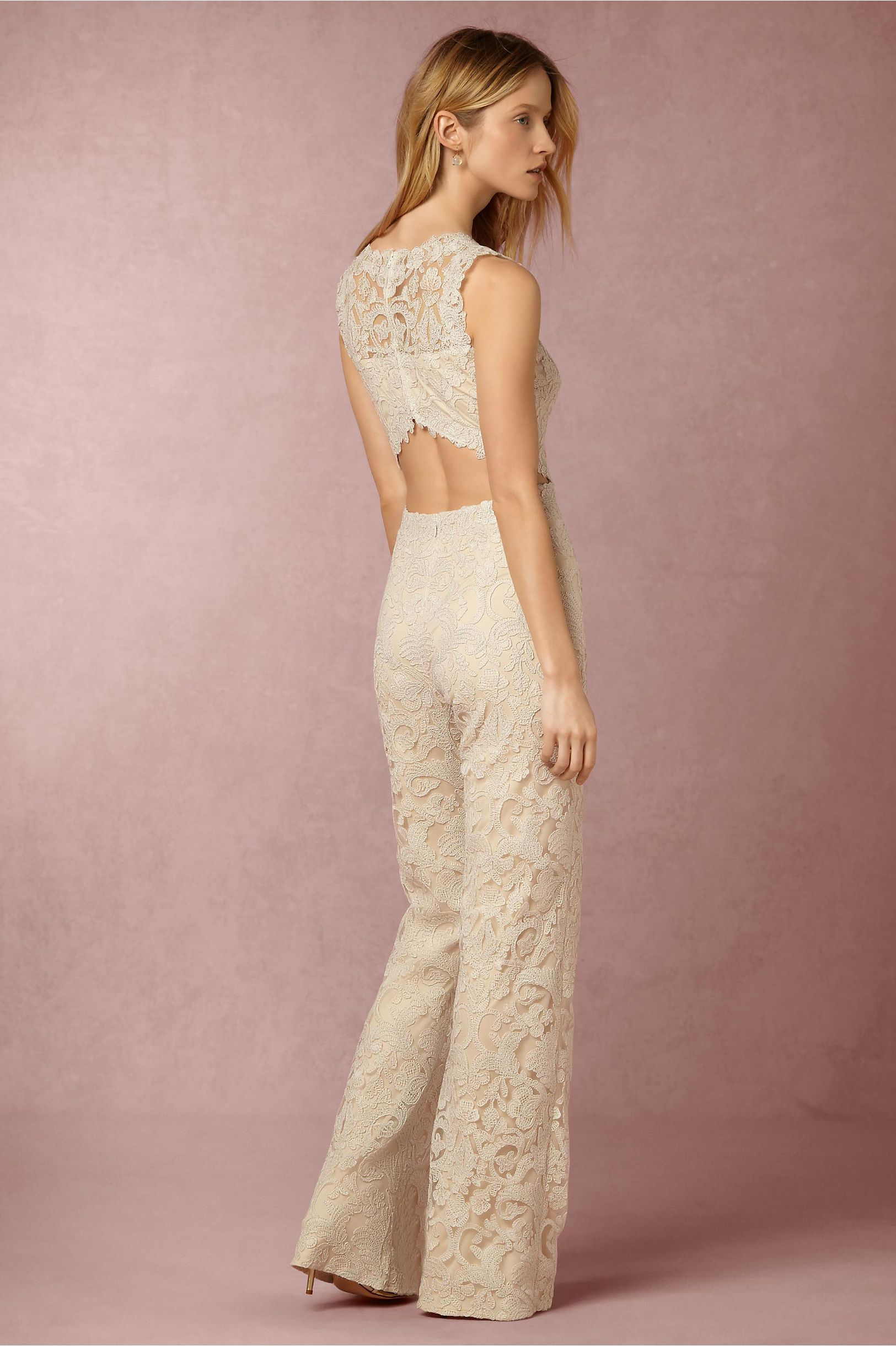 BHLDN Coral Jumpsuit in New at BHLDN | Fash | Pinterest