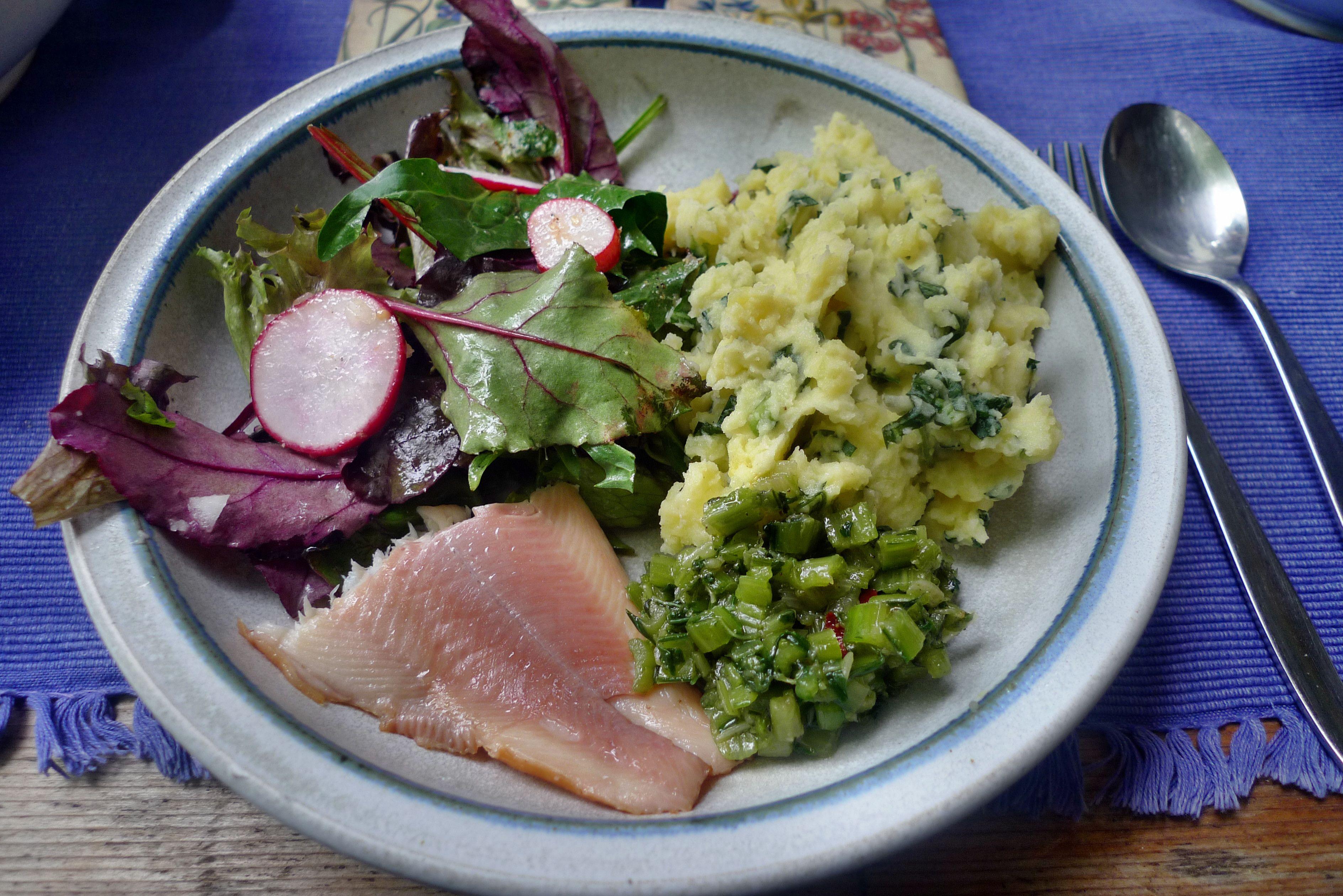 Kartoffelstampf Mit Gemüse
