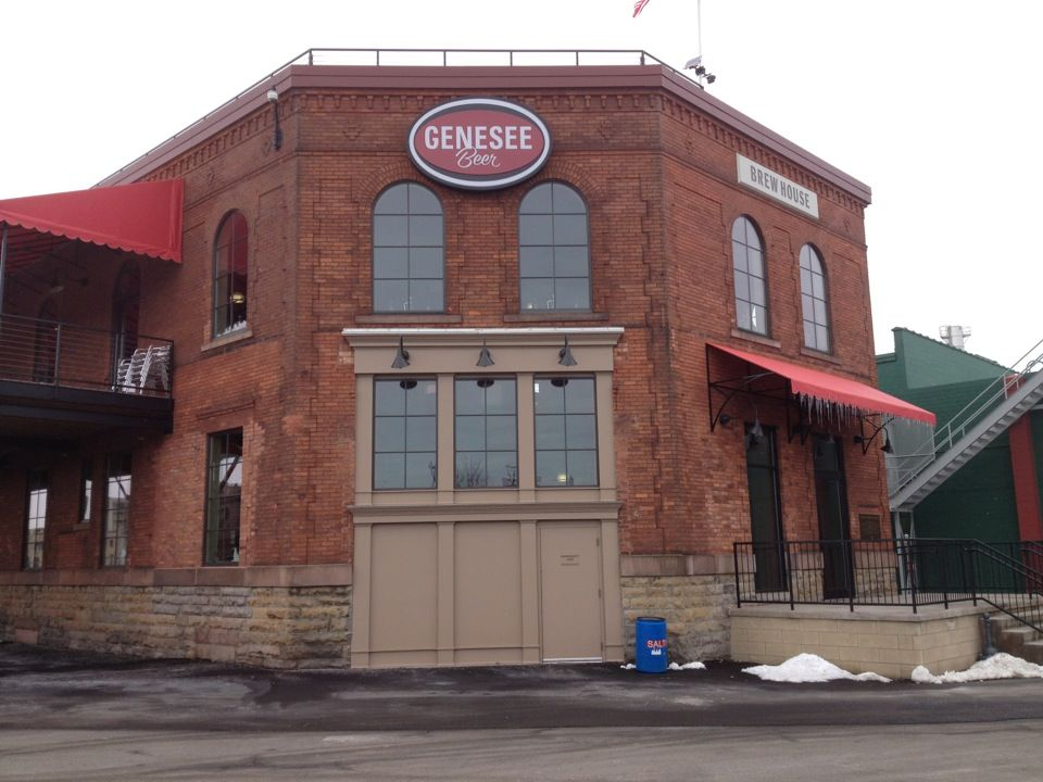 The Genesee Brew House in Rochester, NY