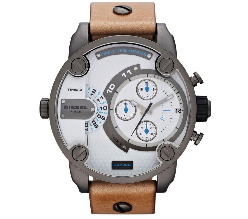 98e8f42e520 A Diesel lançou dois modelos de relógios masculinos que primam pela  irreverência e modernidade para aqueles que gostam de fugir do convencional.