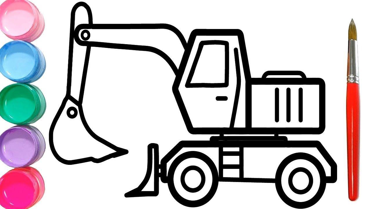 Gambar Mewarnai Mobil Tanki