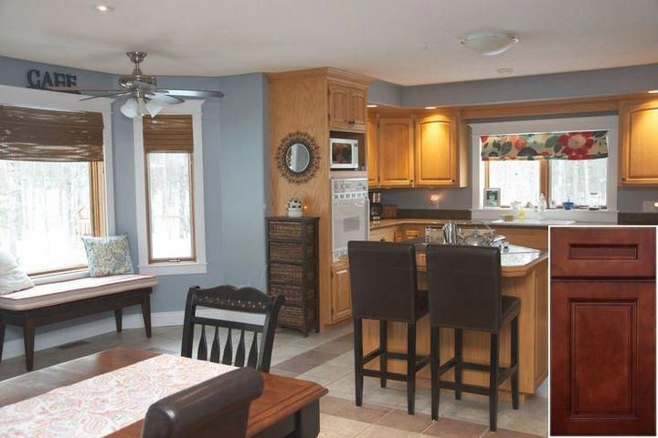 Things to know about - gel stain or paint oak cabinets. # ...