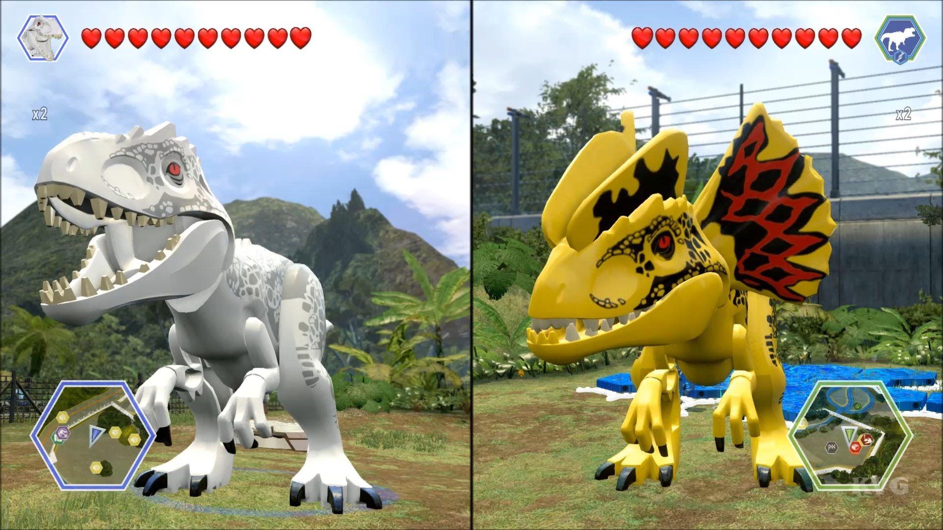 LEGO Jurassic World Indominus Rex vs Custom Indominus